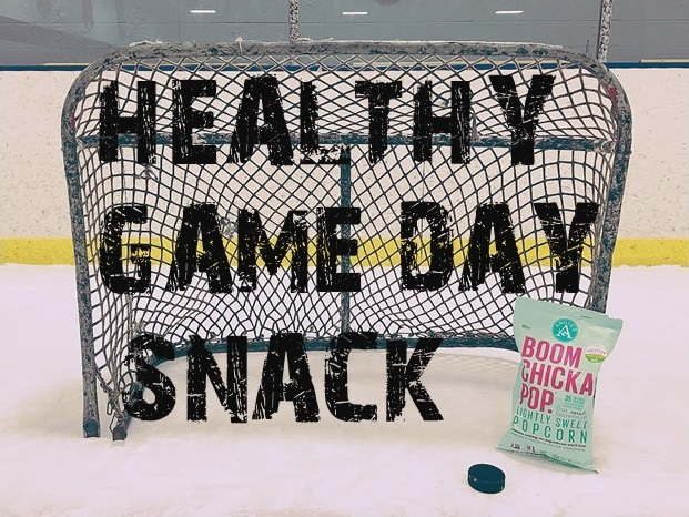 Healthy Game Day Snack with BOOMCHICKAPOP
