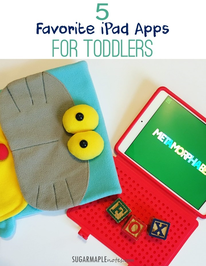 5 Favorite iPad Apps for Toddlers