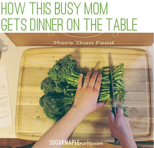 How This Busy Mom Gets Dinner On The Table