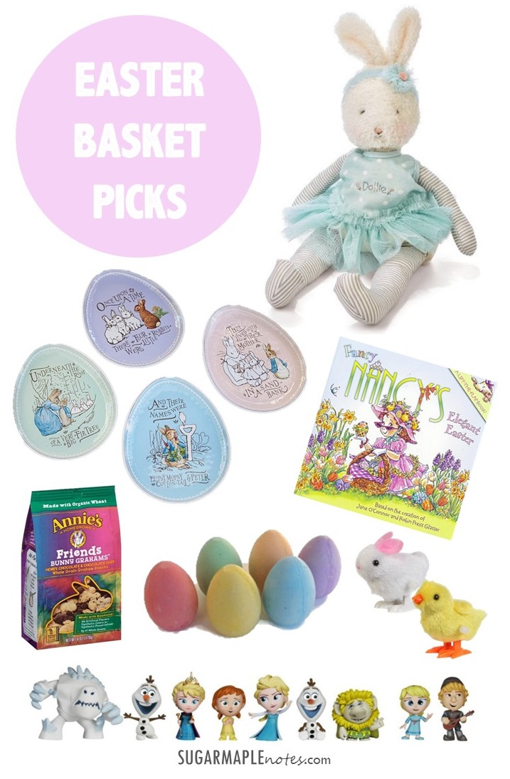 Toddler Girl Easter Basket Picks