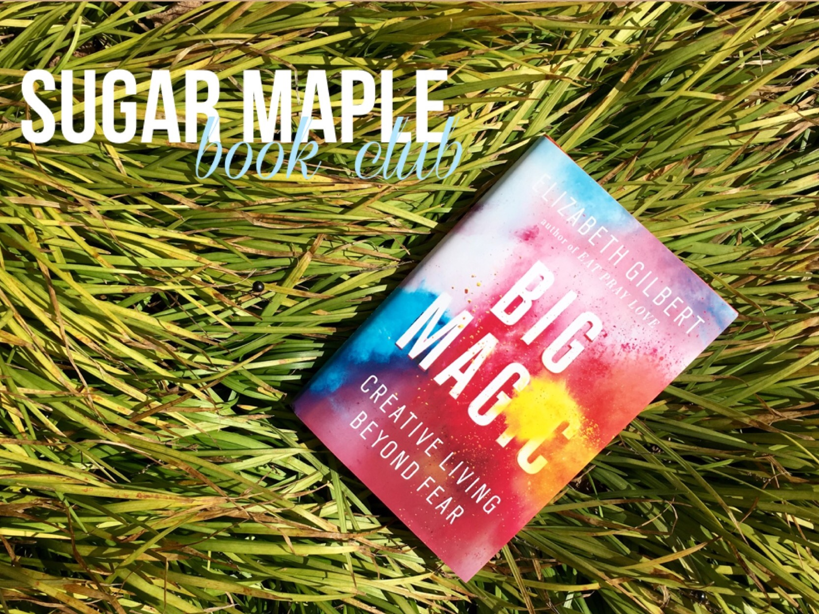 SUGAR MAPLE Book Club: Big Magic