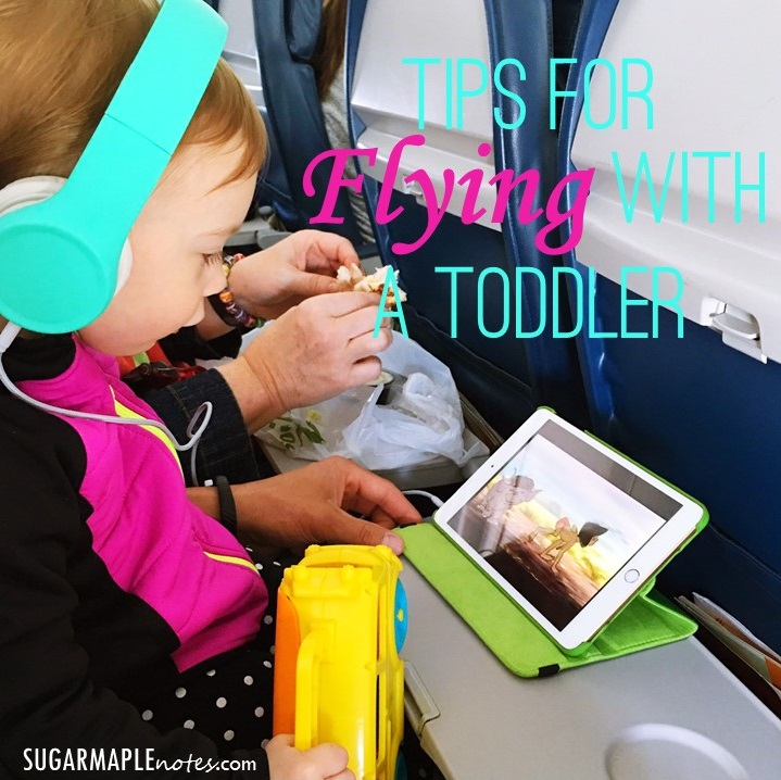Tips For Flying With A Toddler - 1st Flight