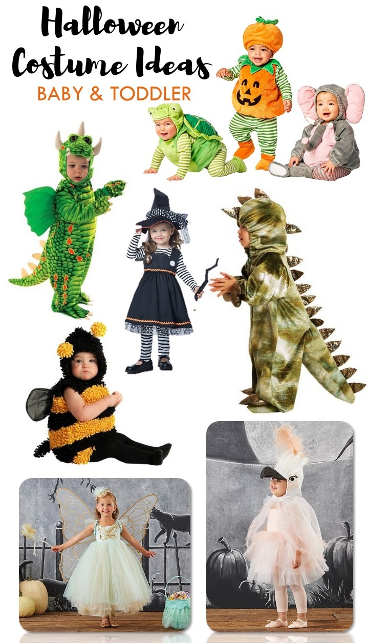 Halloween Costume Ideas for Baby and Toddlers | Looking for cute last minute Halloween Costume Ideas for kids? Check this out!