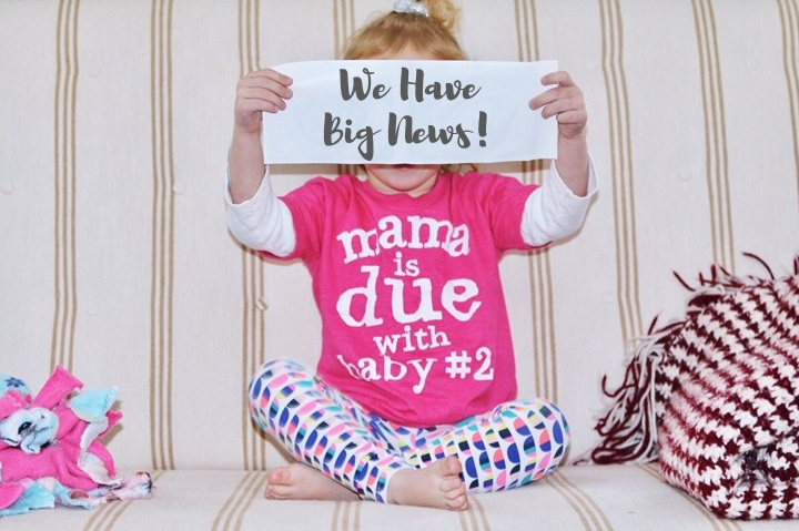 Pregnancy Annoucement - The First Trimester