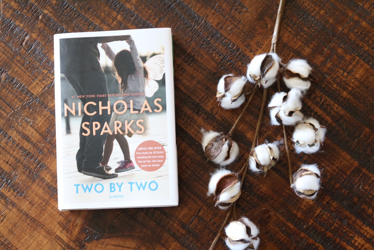 Two by Two Nicholas Sparks Book Review by SUGAR MAPLE notes book club
