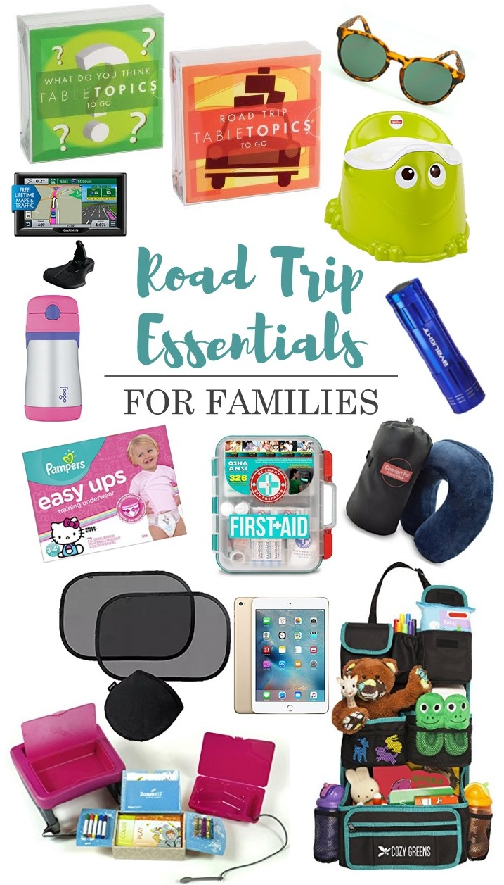 The Ultimate Family Road Trip Essentials Packing List - Click to get the list!