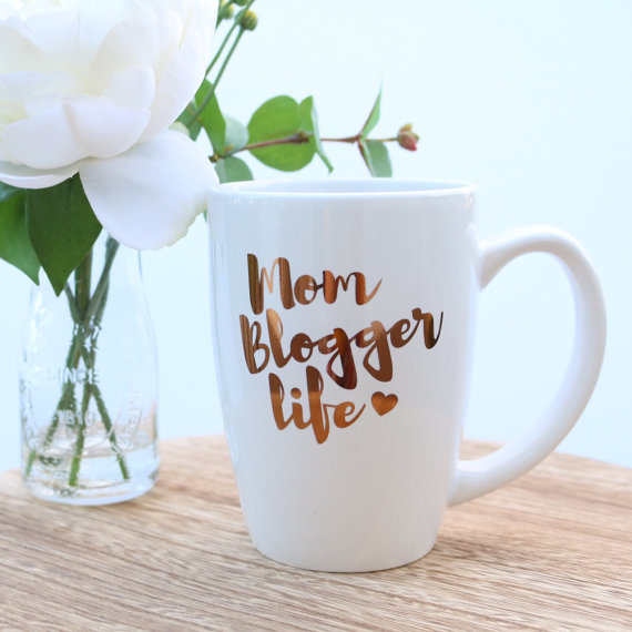 Mom Blogger Life Coffee Mug - The Perfect Mother's Day Gift
