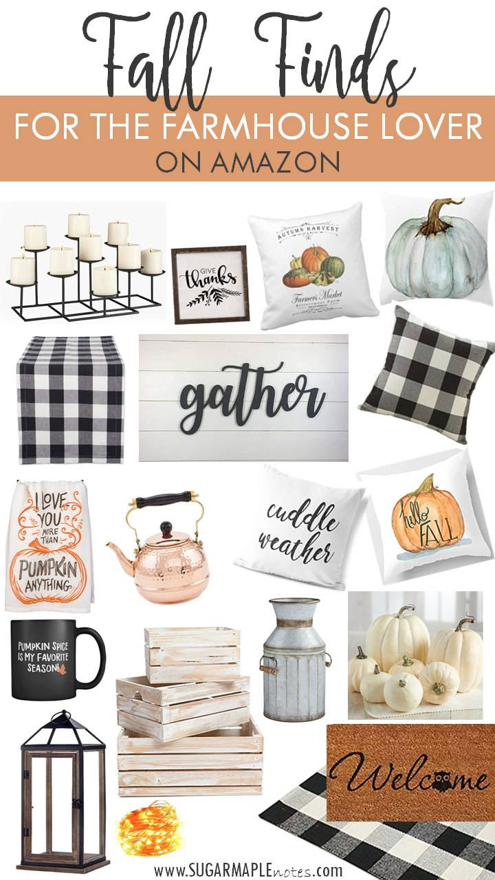 Fall Finds For The Farmhouse Lover On Decor Autumn Decorations