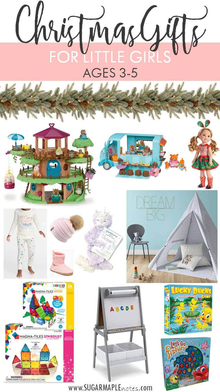 Christmas Gift Ideas For Little Girls Ages 3 5 Sugar Maple Notes