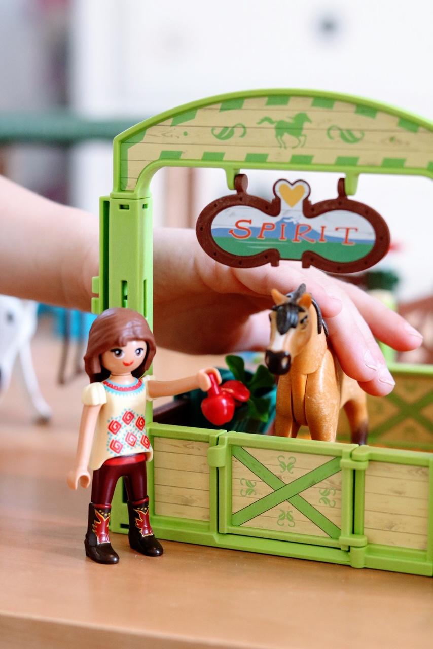 Playmobil DreamWorks Spirit DreamWorks Lucky and Spirit Horse Stall Multi-Colour